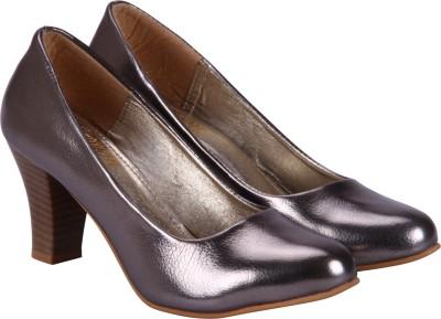 Fashion Mafia Women Grey Heels