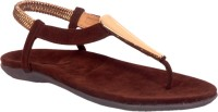 Limerence Women Brown Flats