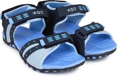 Shoetopia Women Blue Sports Sandals