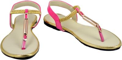 Luca Fashion Women Pink Flats