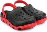 Shoetopia Men Black Sandals