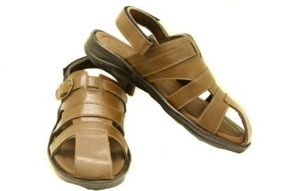 Canvera Men Brown Sandals