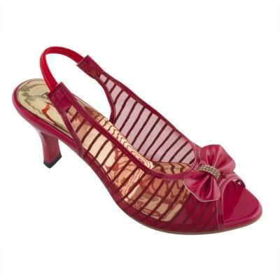 Mod-Inn Women Red Heels