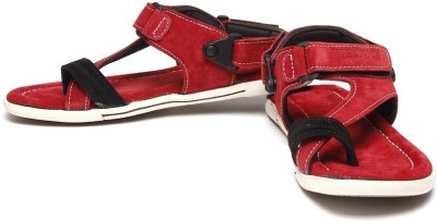 Bacca Bucci Climbers red men's sandals Men Red Sandals