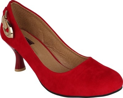 Authentic Vogue Women Red Heels