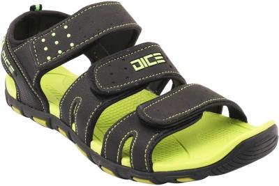 Frestol Men Green, Black Sports Sandals