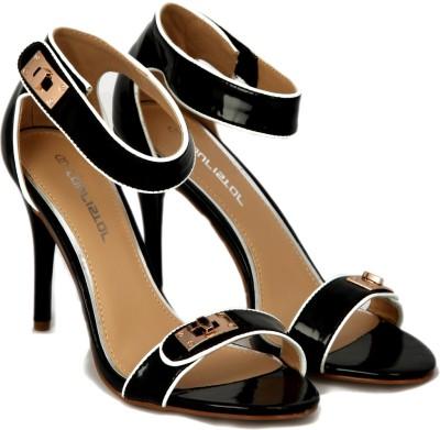 Touristor Ellen Women Black, White Heels
