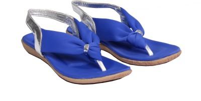 ELLE WINGS Girls Blue Flats