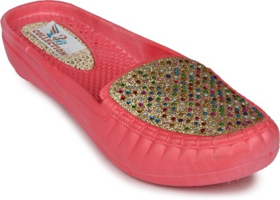 2B Collection Chill-Belly Women Pink Flats