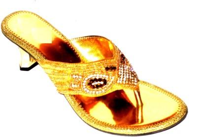 Angeela Women Gold Heels