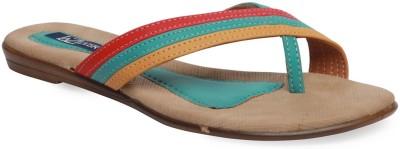 La Zilver Women Multicolor Flats