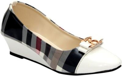 Stylish Step Women Multicolor Wedges