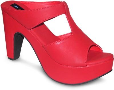 Zikrak Exim Women Red Wedges