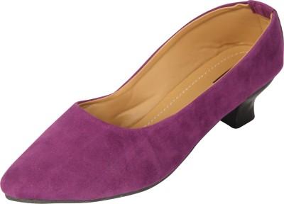 Azores Women Purple Heels