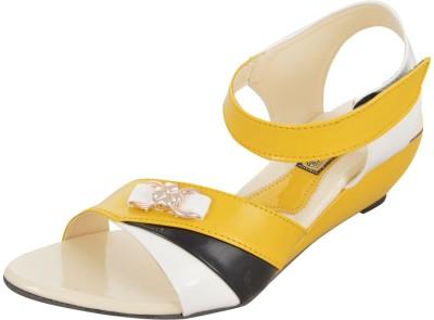 Axcellence Women Yellow Heels