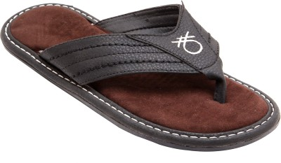 Belleza Men Black Sandals