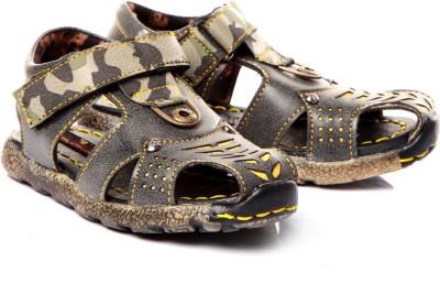 Trilokani Boys Green Sandals