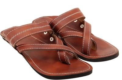 Ridhi Sidhi Men Camel Sandals