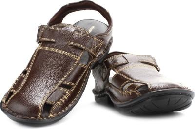 Hush Puppies Men Brown Sandals
