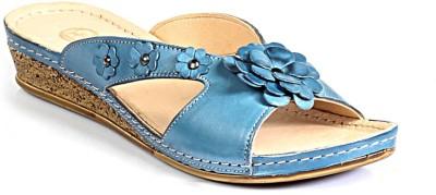 Pavers England Girls Blue Flats