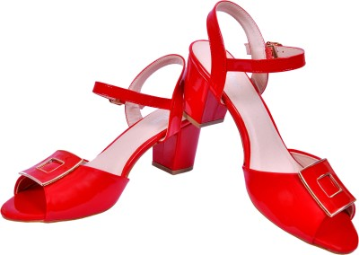 The Shoe Closet Women Red Heels