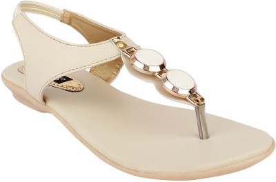 Steady Walk Women Beige Flats
