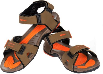 Per Te Solo Romeo-II Men Brown, Orange Sandals