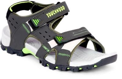 TOUCHWOOD Men, Boys Green, Grey Sandals