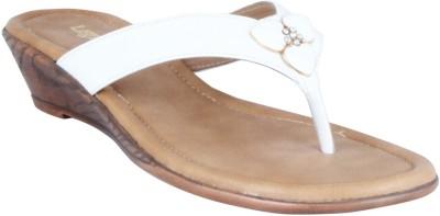 Legsway Women White Flats