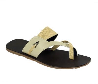 Shoe Bazar Non Leather Men Beige Sandals