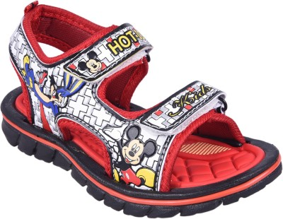 Hot Dog Baby Girls, Baby Boys Red Sandals