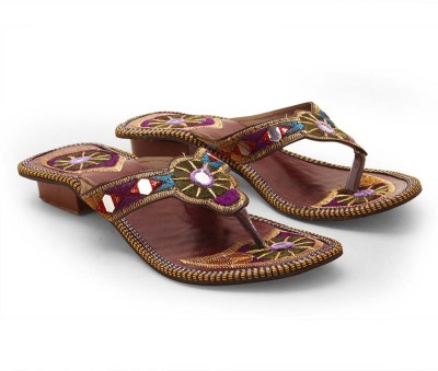 Ethnic Arts Women Multicolor Heels