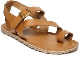 Invictus Men Tan Sandals