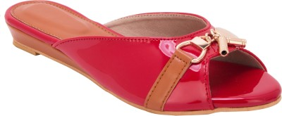 Trotters Women Red Flats