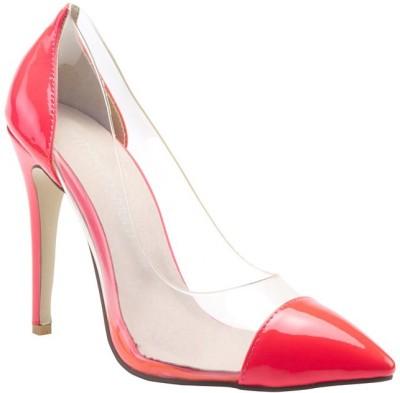 Minty Meets Munt Women Pink Heels