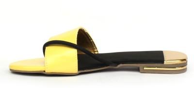 Gcollection Women Yellow Flats