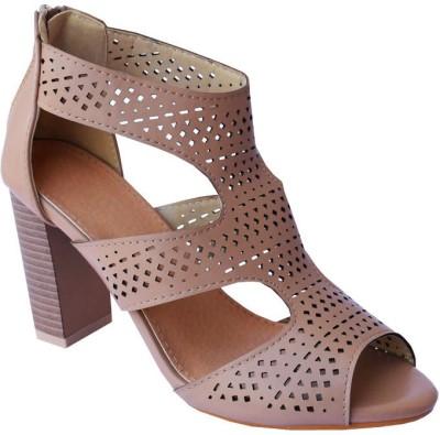 MadeinMyIndia Women Brown Heels