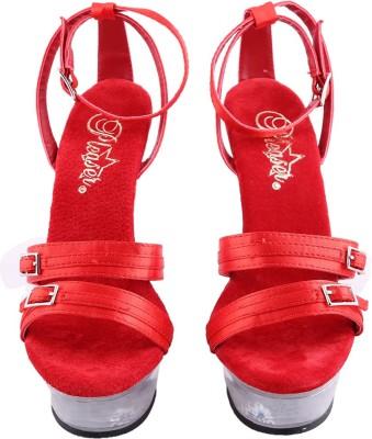 Pleaser Women Red Heels