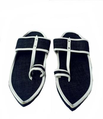 Kalakari Men Black Sandals