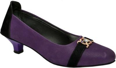 Trendigo Women Purple Heels