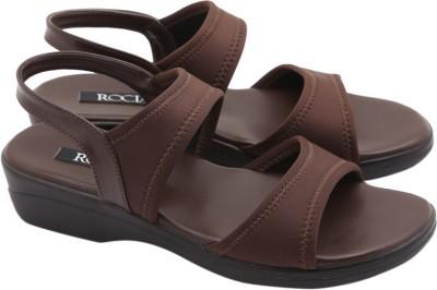Rocia Women Brown Wedges