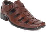 Kosher Men Brown Sandals