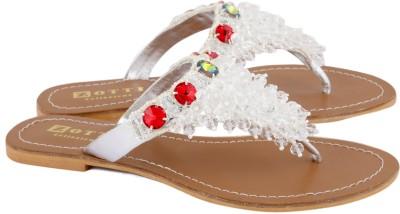 Zotti Lumina Women White Flats