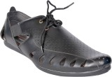 Aim Men Black Sandals