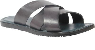 Style Centrum Men Black Sandals