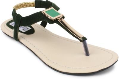 SRS Women Olive Flats