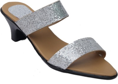 Belle Femme Women Silver Heels