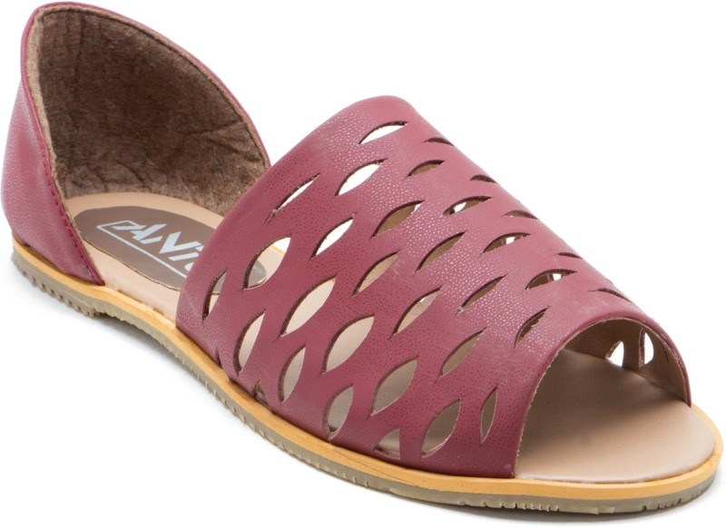 ANTS Women Brown Flats