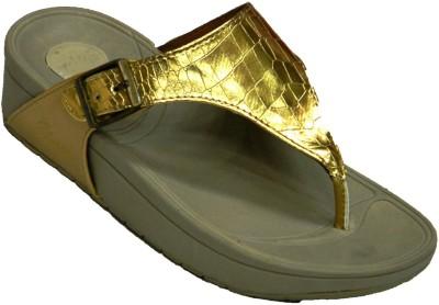 BellaToes Women Gold Flats
