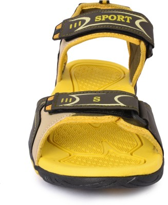 Fitcolus Men Yellow Sandals